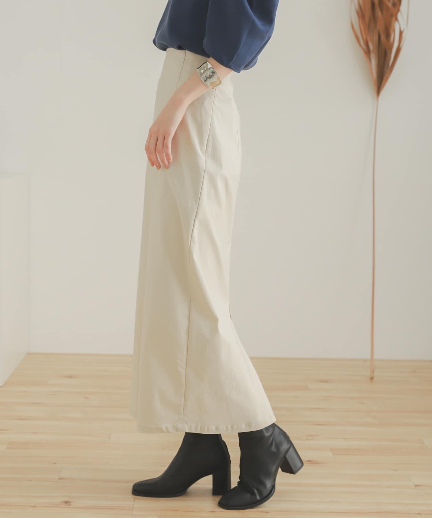 彈性高腰裙(附吊帶)