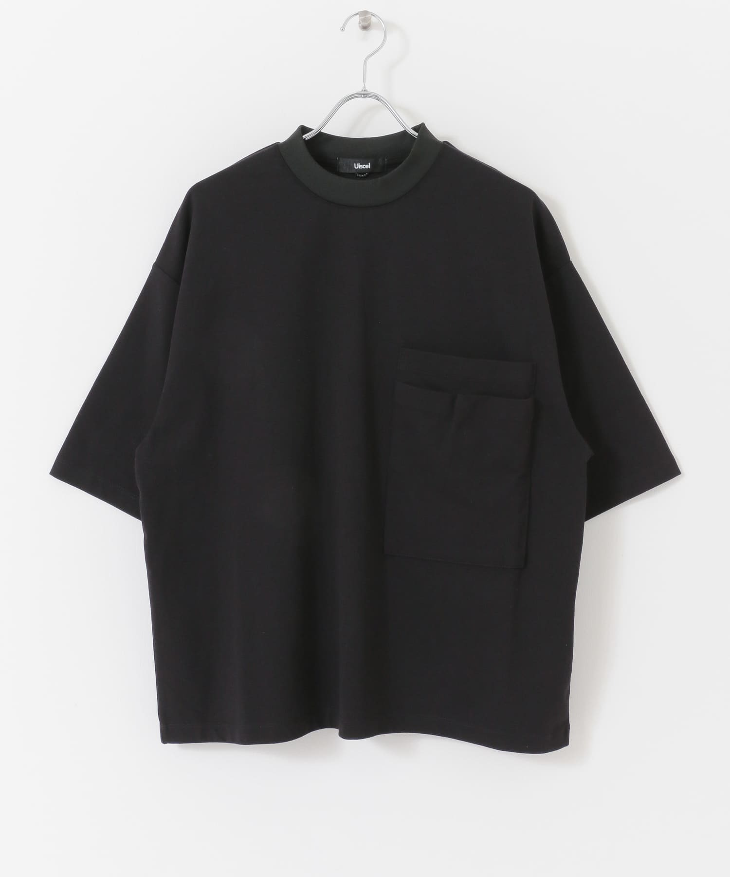 Uiscel 大口袋寬鬆上衣 (5分袖)