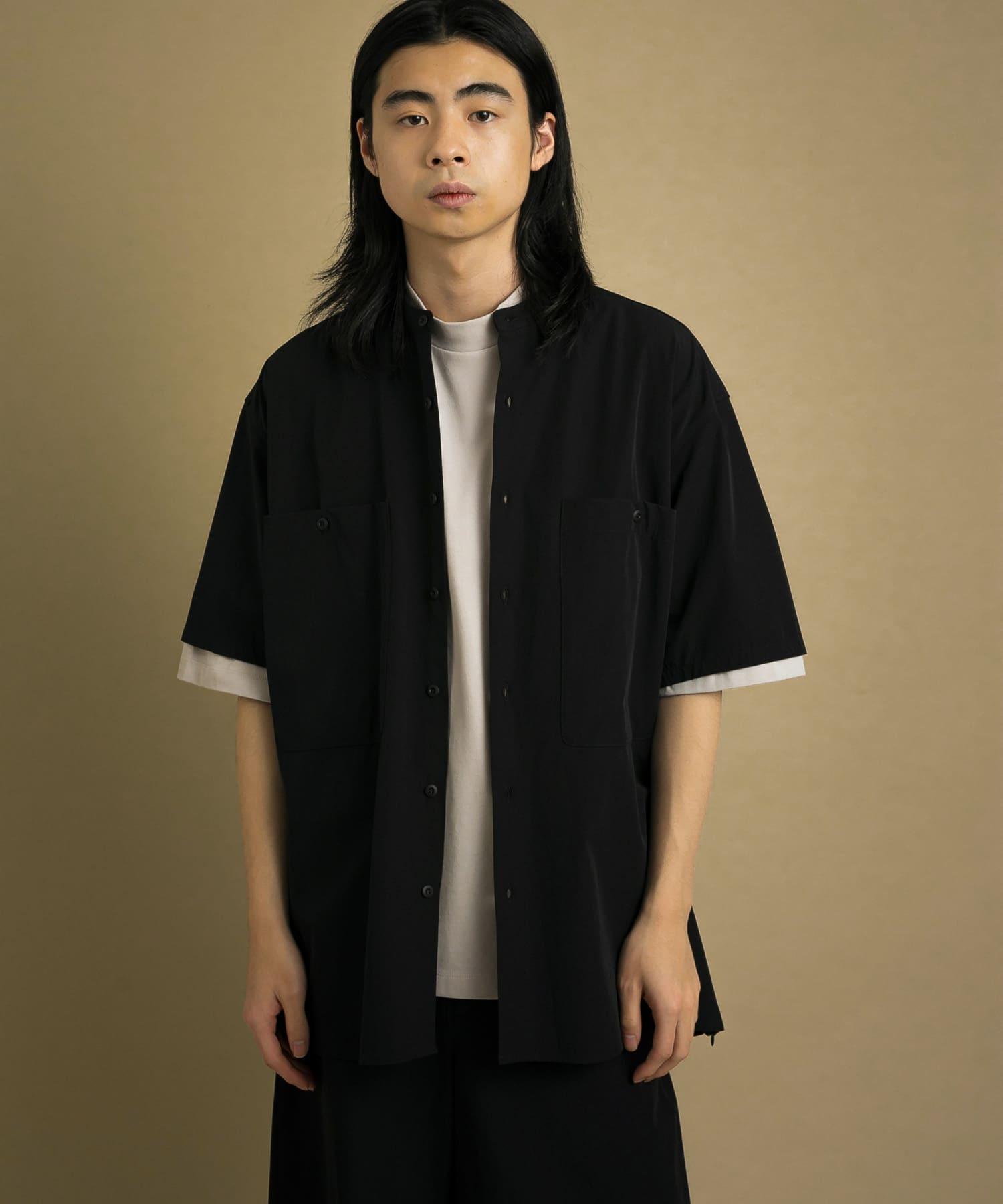 Uiscel 立領寬鬆襯衫 (A款)