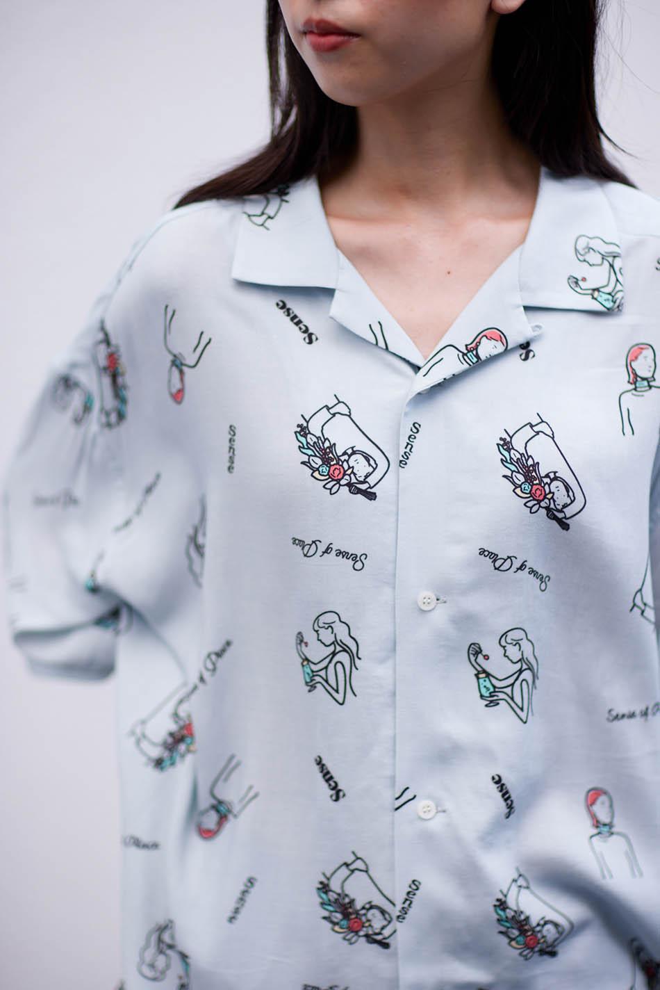 【別注款】RyoKaneyasu 襯衫Graphic Design Shirt