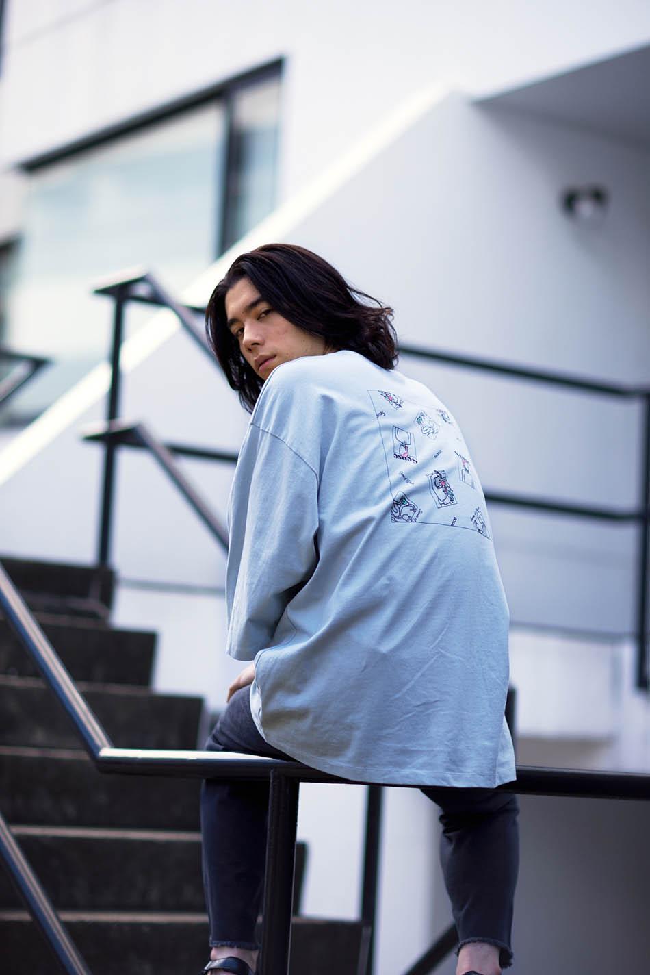 【別注款】RyoKaneyasu短袖上衣(C款)